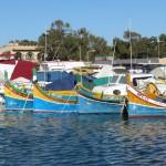 Le luzzu, bateau de pêche traditionnel